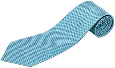 100% Silk Extra Long Houndstooth Tie (Available in 63