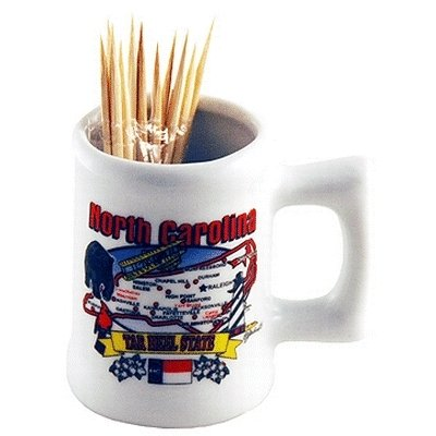 bulk buys North Carolina Toothpick Holder - toothpicks not in - Case of 96