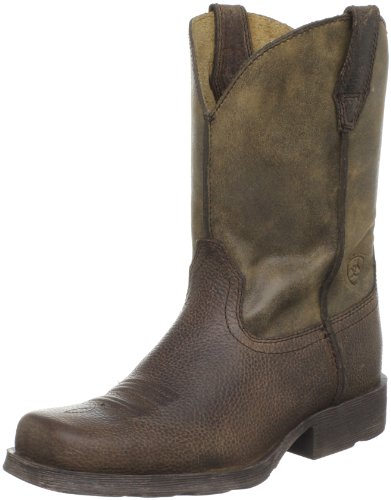 Kids' Rambler Western Boot (Toddler/Little Kid/Big Kid),Earth/Brown Bomber,5 M US Big Kid]()