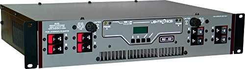Rackmount Dimmer - Lightronics RD82 Rack Mount Dimmer with Terminal / Barrier Connector Strip with Knockout Cover
