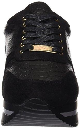 XTI Negro 047262 para Black Mujer Zapatillas CUzqxCZw