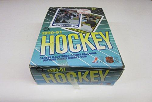 1990/91 OPC O-Pee-Chee Hockey Wax Box
