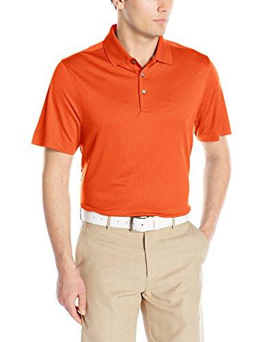 Cutter & Buck Men's CB Dry Tec Glendale Polo, College Orange X-Large