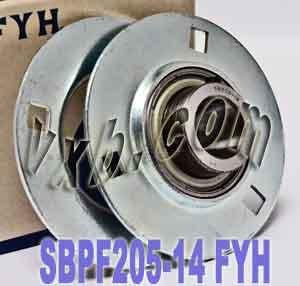 (FYH Bearing SBPF205-14 7/8