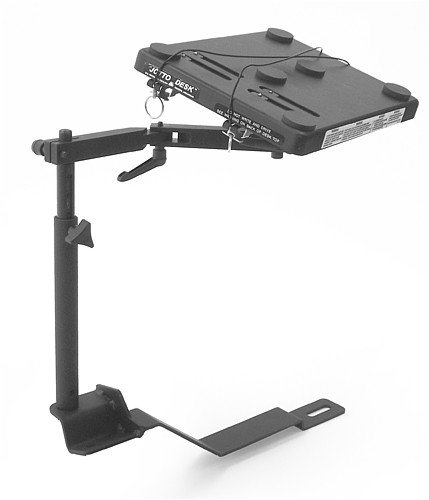Newer Laptop Mount - Jotto Desk laptop mount for a 2002-2010 Newer Chevy Trailblazer, 2002-2010 GMC Envoy, and a 2004-2005 Buick Rainier