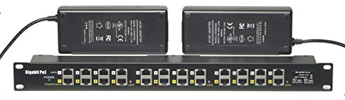 WS-GPOE-12-48v240w gigabit 12 Port Power over Ethernet Injector passive POE for 802.3af devices by WiFi-Texas (Image #8)'