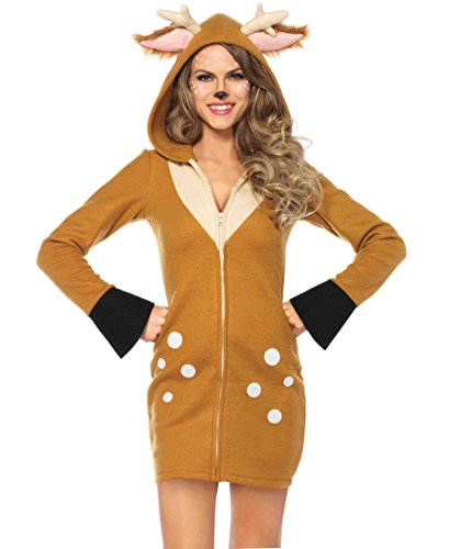 [Cozy Fawn Adult Costume - Small] (Fawn Costumes For Adults)