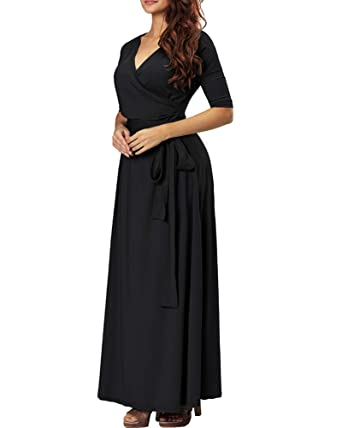59de99a03de Aofur Womens Evening Dress Red Ball Gown Prom Evening Party Formal Long  Maxi Dresses Plus Size