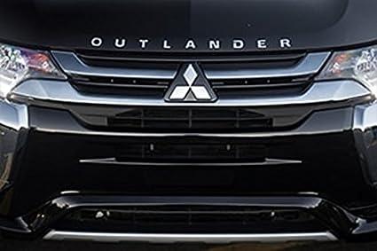 Genuine Mitsubishi OUTLANDER Hood Emblem Badge Decal Outlander 2015 2016  2017 2018