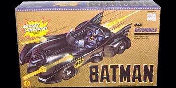 Batman Batmobile with Concealed Rocket Launcher 1989 by Toy Biz