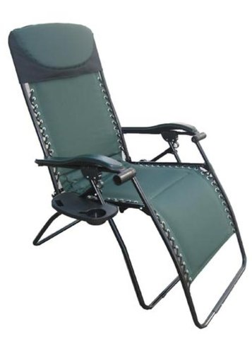 Perfect Deluxe Big U0026 Tall Outdoor Recliner (Fully Padded For Ultimate Comfort),  375lb Weight
