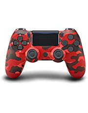$23 » ADHJIE PS4 Wireless Controller Dual Vibration Remote Gamepad Joystick with Charging Cable Compatible with Sony Playstation 4/Slim/Pro/PC Console(Red Camo)