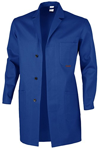 plusieurs Arbeitskittel Disponibles Coton Qualitex Roi 100 54 Berufsmantel Blaumann Bleu Coloris aqwSwCH4x