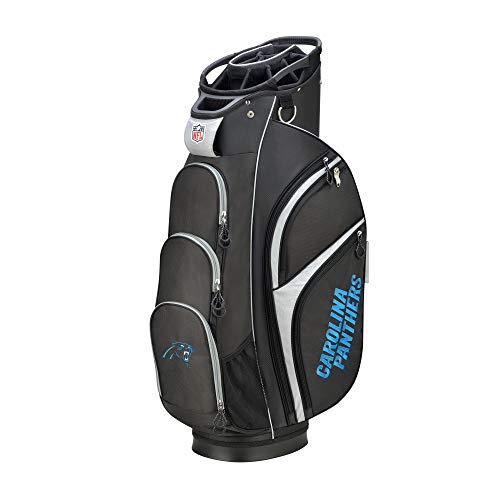 Wilson 2018 NFL Golf Cart Bag, Carolina Panthers ()