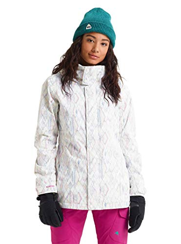 Snowboard Burton Womens Glove (Burton Women's Jet Set Jacket, Diamond Dot, XX-Large)
