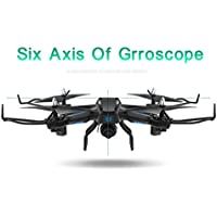 Thinktoo Hot Sale S21 LED Altitude Hold 2.4G 2MP HD Camera 6-Axis WIFI FPV RC Quadcopter Warrior Drone