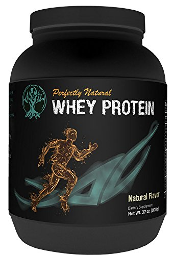 Perfectly Natural Performance Grass Fed Whey Protein Powder - 2lb - Preservative Free, Non-GMO, Gluten Free