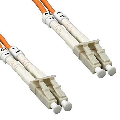 Cable Plenum Fiber Optic (LC LC Plenum Fiber Optic Cable OM2 50/125 Multimode Duplex - 150 Meter)