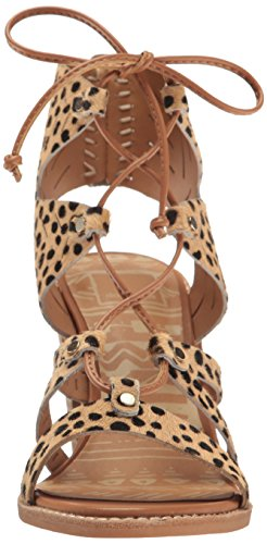 Vita Hair Dolce Sandal Luci Heeled Women's Calf Leopard 6nwU4qzWw