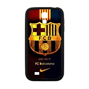 Fashion FC Barcelona Football Club Samsung Galaxy S4 I9500 Cell Phone Cases Cover Popular Gifts(Laster Technology)