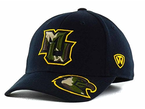 Top of the World Mens Dog Tag Baseball Cap One Size Fits Most Marquette