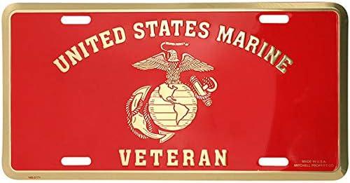 EE INC Marines United States Marine Corps License Plate USMC U.S