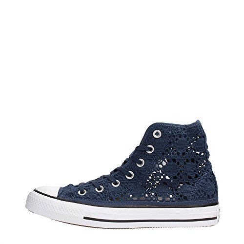 Converse 552733C Sneakers Women Textile Fabric Navy 36.5 KHC2e