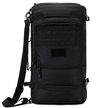 Holabag Outdoor Mochila De Senderismo 50L Tactical Shoulder Bag Military Caza De Caza Bolsas Montañismo Mochila Impermeable De Nylon Cubo Bolsas De Hombro, ...