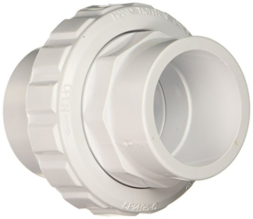 Hayward SP14952S 1-1/2-Inch Socket by 2-Inch SLIP White ABS Flush Female Union