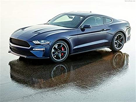 Kona Blue Mustang >> Amazon Com Ford Mustang Bullitt Kona Blue 2019 Poster 18 X