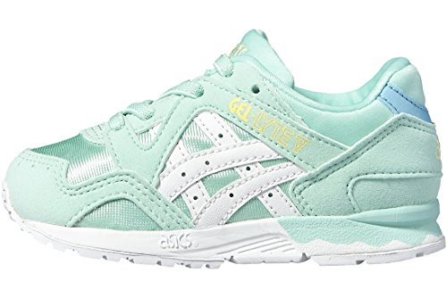 SCARPE BAMBINO ASICS GEL LITE V TS C539N (21 - 7601 LIGHT MINT-WHITE)