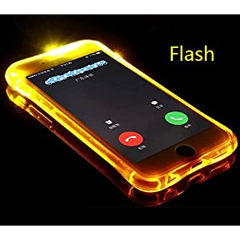 Vivo Nex A/S Ultimate Shell, Cool Flashing Light UP To Remind Incoming Call  Slim Cover by Phone's LED Refraction, TAITOU Awesome Soft TPU Thin Phone