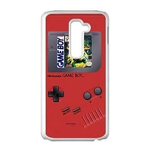LG G2 White phone case Game boy TMNT Teenage Mutant Ninja Turtles JHQ4438232
