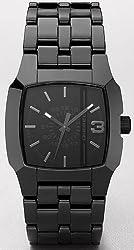 Diesel Quartz Black Ceramic Men's Watch  DZ1422