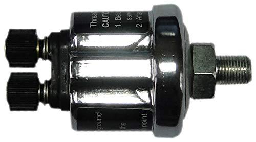VEGA Manom/ètre Pression dessence 0-10 Bars Affichage 7 Couleurs Changement Tactile 52 mm Marque Fran/çaise