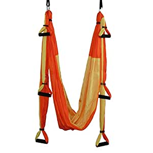 Seasofbeauty Yoga Swing Inversion Sling (See Color Options) (Bisque)