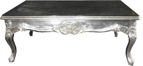 Casa Padrino Barock Couchtisch Silber 120 X 80 Cm Wohnzimmer Tisch