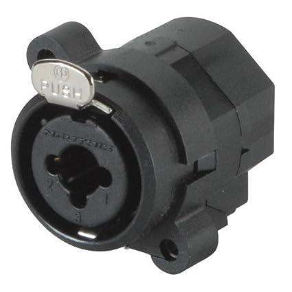 Neutrik NCJ5FI-S Combo Connector XLR 1/4