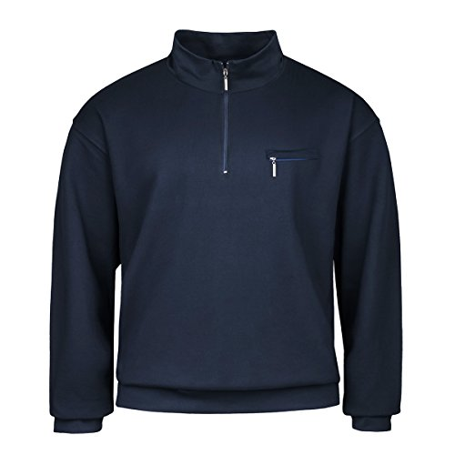 Bleu sweatshirt Troyer Adamo Surdimensionné Fashion Marine t6qxvxPf