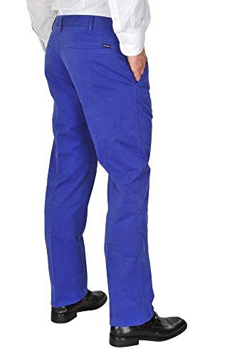 Incotex Pantalon Homme 44 Bleu / Pantalon buisness Taille normale Coupe droite R