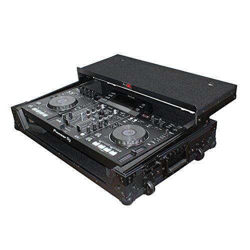 Pioneer XDJ-RX Heavy Duty flight road gig ready hard case with laptop shelf XS-XDJRXWLTBL ProX