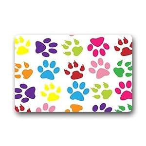 """Custom The animal footprints Doormat Outdoor Indoor 18""""x30"""" about 46cmx76cm"""
