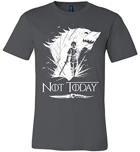 - Cool Not Today Game of Thrones GOT Canvas Unisex T-Shirt for Women Men Fans Gift