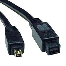 Tripp Lite F019-006 6 -Feet IEEE 1394b Firewire 800 Gold Hi-speed Cable, 9pin/4pin