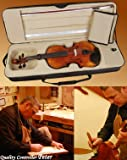 Pro 4/4 Full Size Advanced Model Violin Fiddle W/ Bow Case