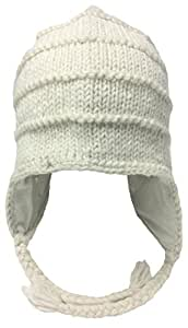 bdc1332f304 Image Unavailable. Image not available for. Color  Nepal Hand Knit Sherpa  Hat with Ear Flaps ...