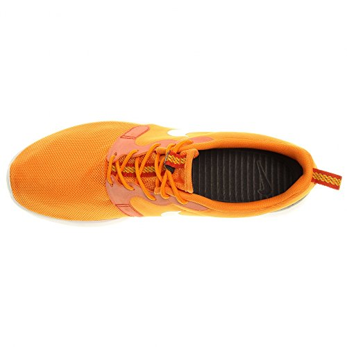 Nike Rosherun Hyp Hyperfuse Sneaker Blauw / Lichtblauw / Wit Kumquat / Wit - Antraciet - Turf Oranje
