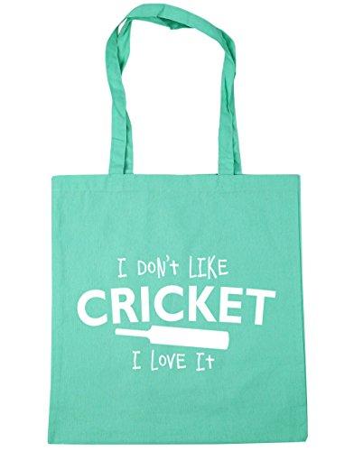 it Gym Mint Tote Like HippoWarehouse I Beach Bag x38cm Shopping litres Cricket I love 10 Don't 42cm w0azxnxfqY