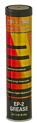 Polytron Ep 2 Li Complex Grease 14Oz  0 4Kg  Tube   Military Industrial Grade