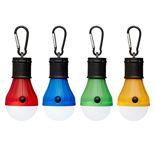 Price comparison product image 4 Pack AOSHR Tent Light LED Camping Lantern for Camping Hiking Fishing Emergency Light